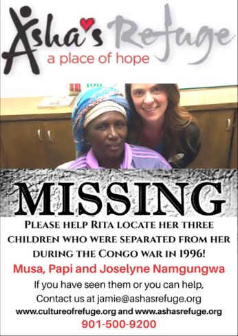 Missing flyer